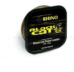 Black Cat 80kg, 20m, fonott előkezsinór FONOTT ZSINÓROK