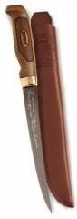 Marttiini FNFSF4 SUPERFLEX filéző kés, 10 cm bőr tokban KÉS