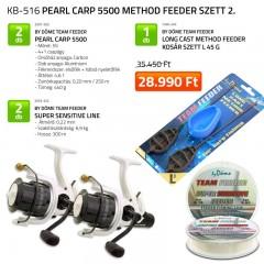 Pearl Carp 5500 Method Feeder szett 2. FEEDER SZETT