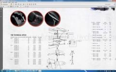 Rhino VX Pin, For electric motor 28. 34. 44. 54 lsd. Robbantott rajz CSÓNAKMOTOR ALKATRÉSZ-FELSZERELÉS
